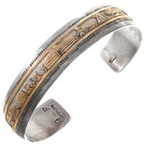 Vintage Navajo Storyteller Bracelet 40347