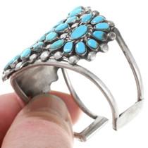 Old Pawn Petit Point Turquoise Bracelet 40354