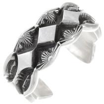 Heavy Gauge Sterling Silver Cuff Bracelet 40367