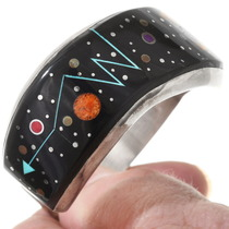 Native American Night Sky Inlay Bracelet 40368
