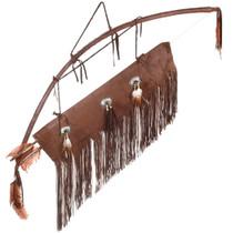 Vintage Indian Bow Arrows Quiver Set 40373