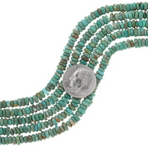 Green Turquoise Heishi Beads 37123