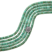 Bright Green Turquoise Beads 37124