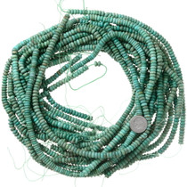 6mm Turquoise Beads Rondelles Beading Stringing Supplies 37127