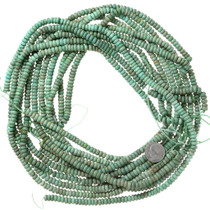 Real Turquoise Bead Strand 37126