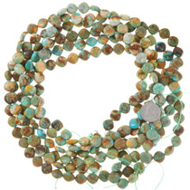9mm Royston Turquoise Pillow Beads 37129