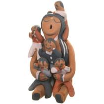 Vintage Jemez Storyteller Pottery 40397