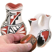Set of 3 Native American Pottery 40402