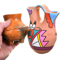 Colorful Native American Pottery 40405