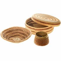 Set of 3 Woven Southwest Baskets 40407