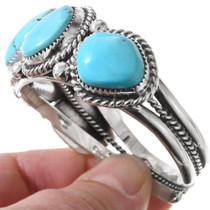 Navajo Sleeping Beauty Bracelet 40425