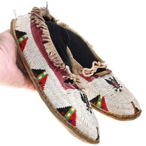 Native American Soft Leather Moccasins 40422