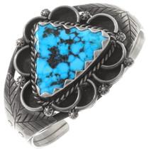 Vintage Ithaca Peak Turquoise Cuff Bracelet 40432