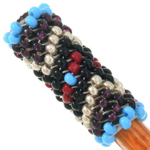 Navajo Turquoise Beaded Pattern Hair Pin 40437