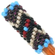 Navajo Turquoise Beaded Pattern Hair Pin 40437