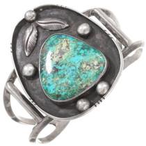 Vintage Carico Lake Turquoise Cuff Bracelet 40449