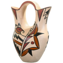 Native American Wedding Vase Pottery 40453