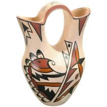 Vintage Jemez Pueblo Wedding Vase 40453