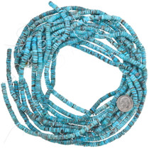 Sonoran Gold Turquoise Heishi Native American Style Beads 37135