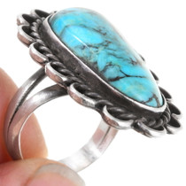Native American Turquoise Ring 40474