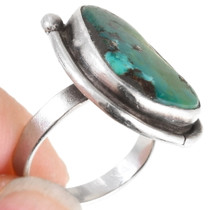 Vintage Native American Turquoise Ladies Ring 40476
