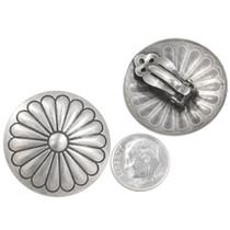 Native American Western Silver Earrings 40491