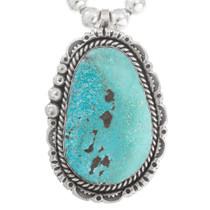 Genuine Kingman Turquoise Pendant 40495
