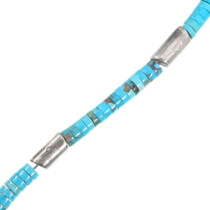 Arizona Turquoise Heishi Bead Necklace 40518