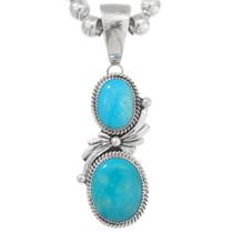 Native American Turquoise Pendant 40530