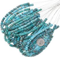 Blue Turquoise Heishi Beads 37148