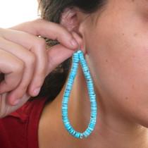 Turquoise Heishi Bracelets Earrings Bead Strands 37148