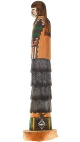Hand Carved Native American Kachina 40535