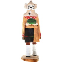 Vintage Hopi Snow Maiden Kachina Doll 40540