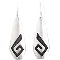 Sterling Silver Hopi Earrings 40543