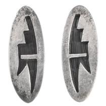 Vintage Native American Old Pawn Earrings 40564