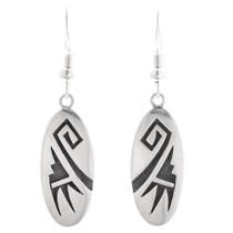 Vintage Hopi Sterling Silver Dangle Earrings 40567