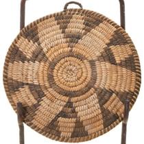 Antique Papago Tray Basket 40571