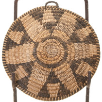 1930s Pima Basket Tray Antique Native American Crafts 40571
