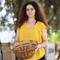 Antique Native American Basket Bowl 40575