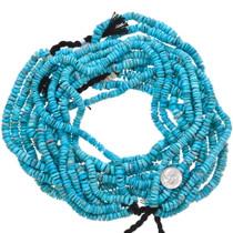 Large Heishi Turquoise Disc Beads 37163