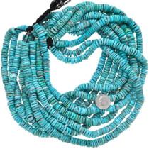Large Turquoise Heishi 37164