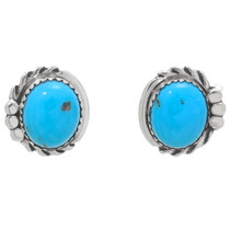 Native American Blue Turquoise Earrings 32010