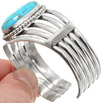 Sterling Silver Ithaca Peak Turquoise Bracelet 40594