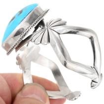 Navajo Made High Grade Turquoise Cuff Bracelet 40598