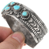 Number 8 Turquoise Native American Bracelet 40613