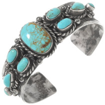Vintage Navajo Turquoise Cuff Bracelet 40613