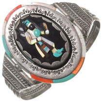 Old Pawn Zuni Kachina Bracelet 40618