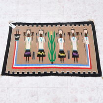 Navajo Yeibeichei Wool Rug 40639