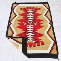 Vintage Wool Santa Fe Pattern Rug 40646