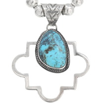 Native American Turquoise Pendant 40649